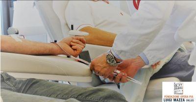 fondazione opera pia luigi mazza onlus occasione prelievo sangue offerta casa di cura