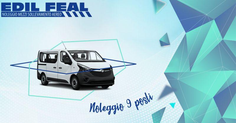 Offerta servizi professionali noleggio pulmini a 9 posti Lecce e provincia - Edil Feal