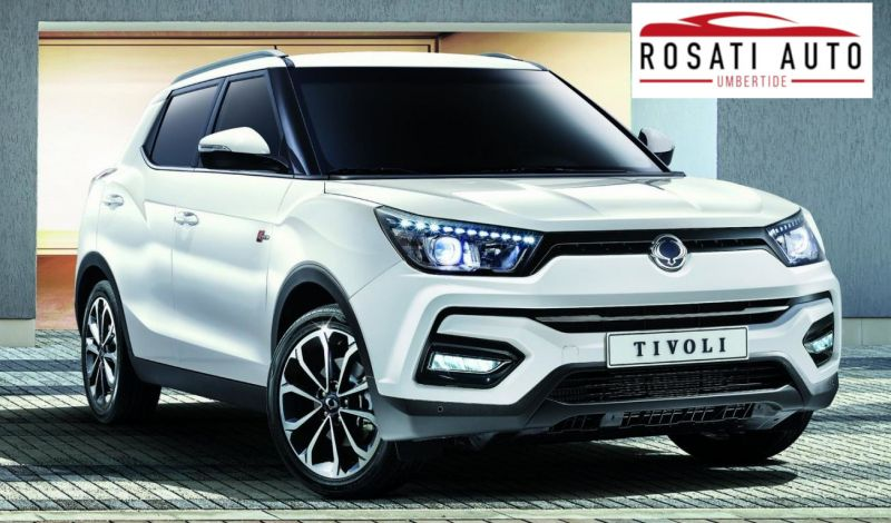 Rosati Auto offerte Ssangyong Tivoli Umbertide - promozioni Ssangyong Tivoli Gubbio