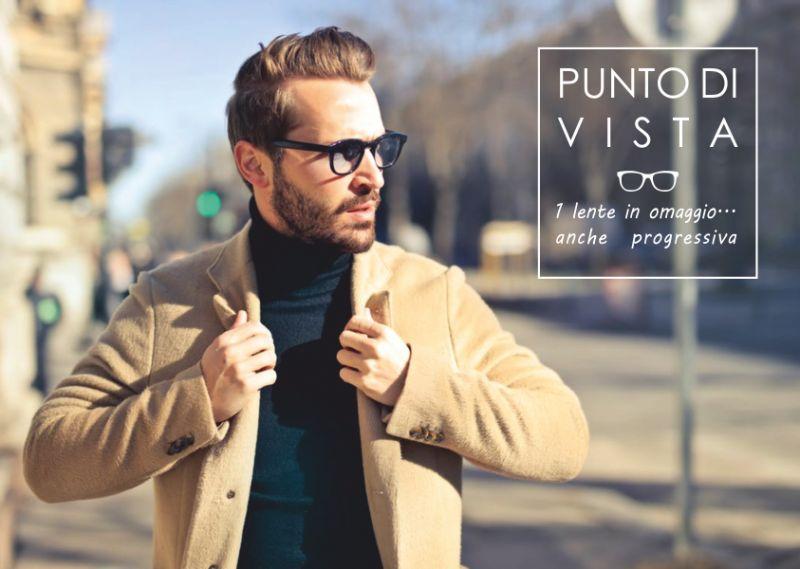 offerta occhiali da vista progressivi a meta prezzo-promozione una lente in omaggio