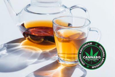 offerta tisane a base di foglie e semi di cannabis promozione infusi di canapa