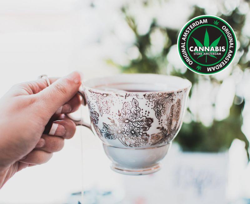 CANNABIS STORE AMSTERDAM FAMAGOSTA offerta tisana canapa - promo infuso rilassante cannabis