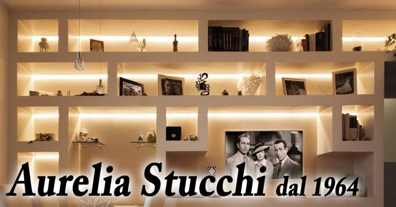 Offerta decorazione restauro interni casa roma sihappy - Stucchi decorativi per pareti ...