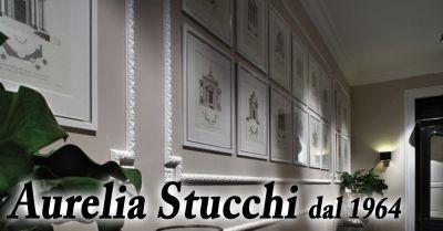 offerta aurelia stucchi roma occasione realizzazione cornici parete rosoni e fregi roma