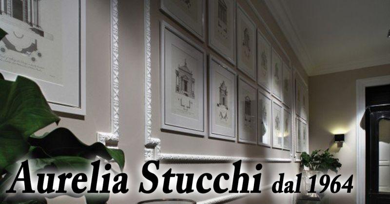 offerta  Aurelia Stucchi Roma - occasione realizzazione cornici parete rosoni e fregi Roma