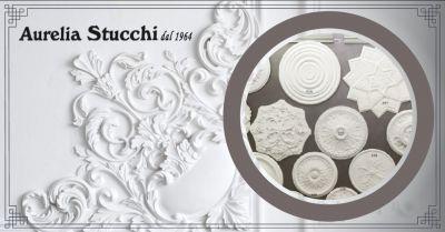 aurelia stucchi offerta rosoni in gesso roma occasione vendita cornici in gesso roma