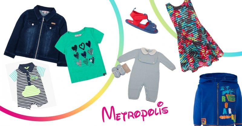 METROPOLIS offerta abbigliamento bambini montesano - occasione collezione primavera bimbi