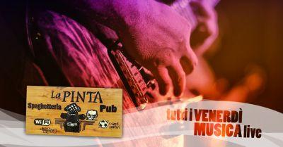 offerta serate musica live san bartolomeo concerti live pub la pinta