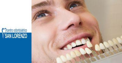offerta faccette dentali roma odontoiatria estetica occasione protesi dentali faccette roma
