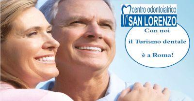 offerta denti fissi in giornata roma occasione implantologia a carico immediato roma