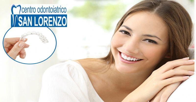 offerta Ortodonzia invisibile invisalign Roma - occasione apparecchio mobile dentale Roma