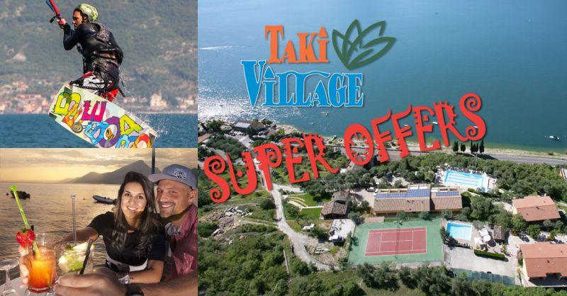 Offerta vacanza sportiva con corso kite  e pernottamento con colazione sul Lago di Garda