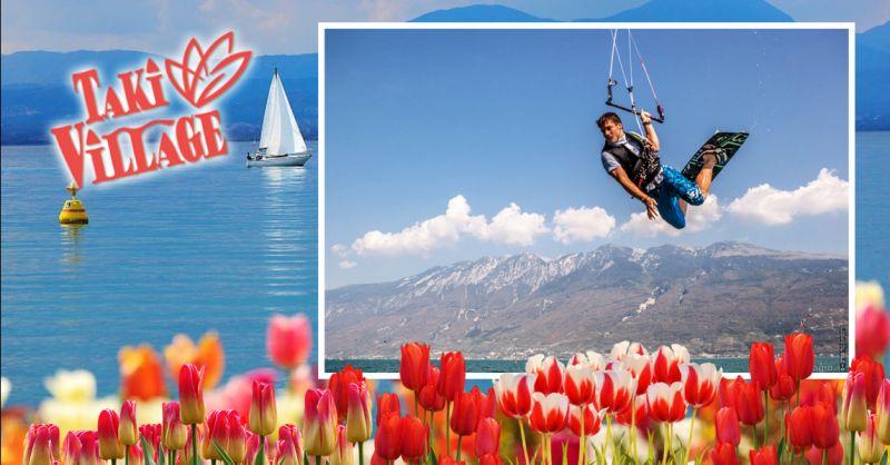 Offerta Kitecamp sul Lago di Garda - Occasione Kitesurf in italia
