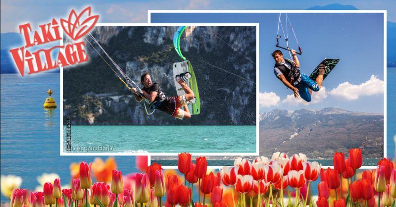Offerta Hotel sul Lago di Garda - Occasione Vacanze Kitecamp Brenzone sul Garda