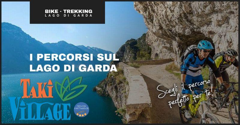 Mountainbiken am gardasee für anfänger - Hotel Möglichkeit für Mountainbikes am Gardasee