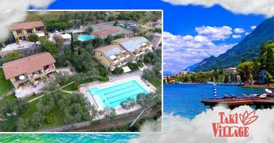 offerta vacanze in bungalow lago di garda occasione camping e villaggi garda