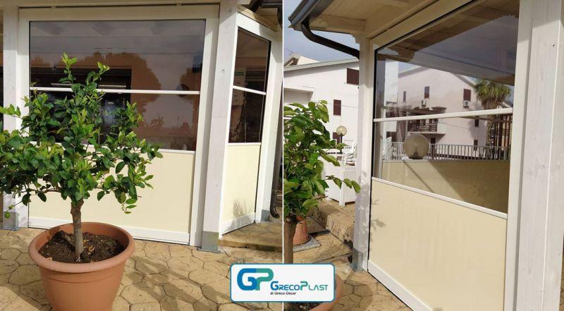 Offerta coperture newsky per balconi Lamezia Terme – promozione copertura newsky chiusura terrazzi Catanzaro