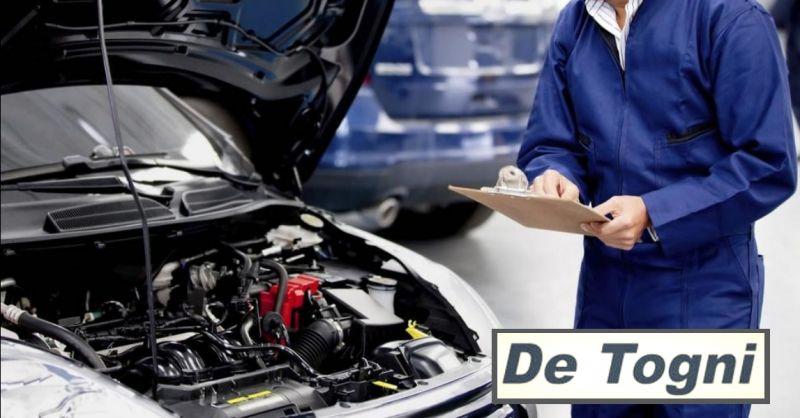 DE TOGNI offerta revisione auto a Verona - occasione servizio auto sostitutiva a Verona