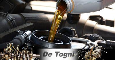 offerta controllo e rabbocco olio auto zevio occasione cambio filtro olio auto verona