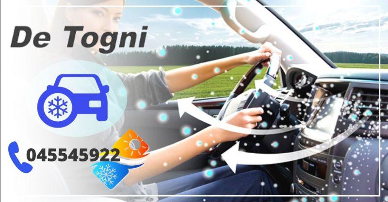 Offerta pulizia sanificazione climatizzatore auto - occasione pulizia impianto clima auto Verona