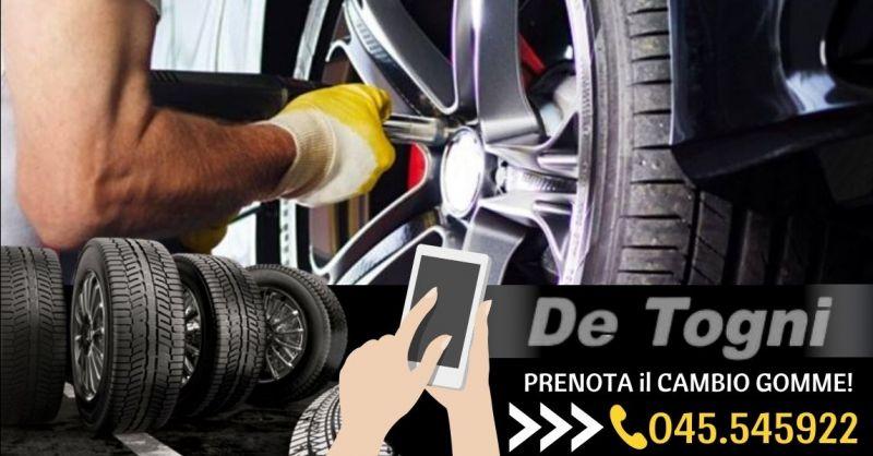 Offerta cambio gomme con equilibratura Zevio - Occasione sostituzione pneumatici con deposito Verona