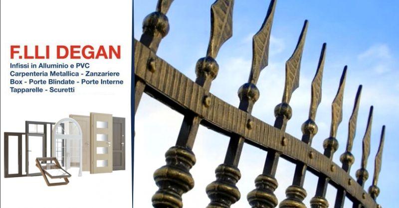 Offerta realizzazione lavorazioni in ferro - occasione produzione cancelli in ferro Verona
