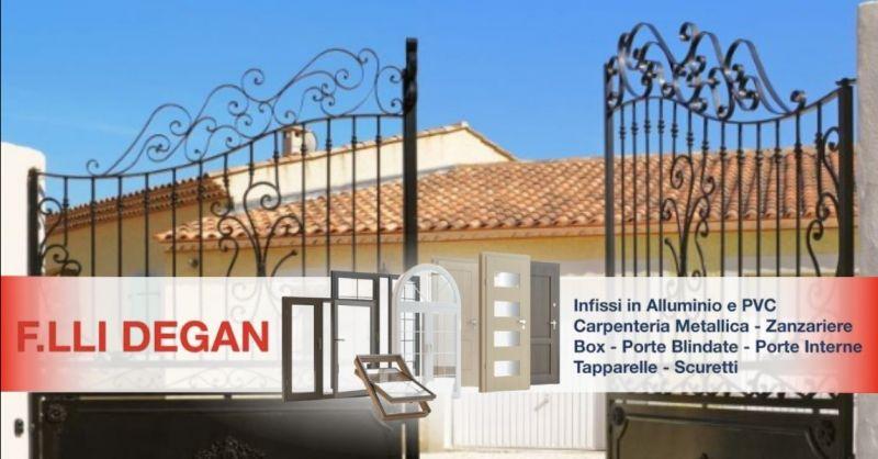 Occasione realizzazione cancelli portoni in ferro - Offerta carpenteria metallica lavorazioni in ferro Verona