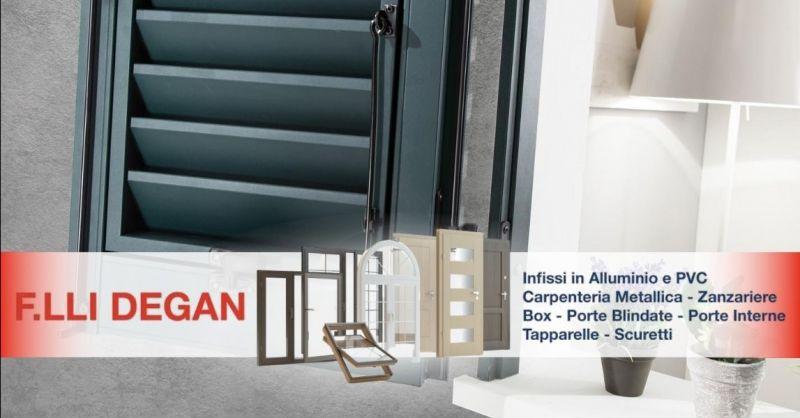 Offerta produzione scuretti in alluminio pvc - Occasione vendita installazione persiane in pvc alluminio Verona