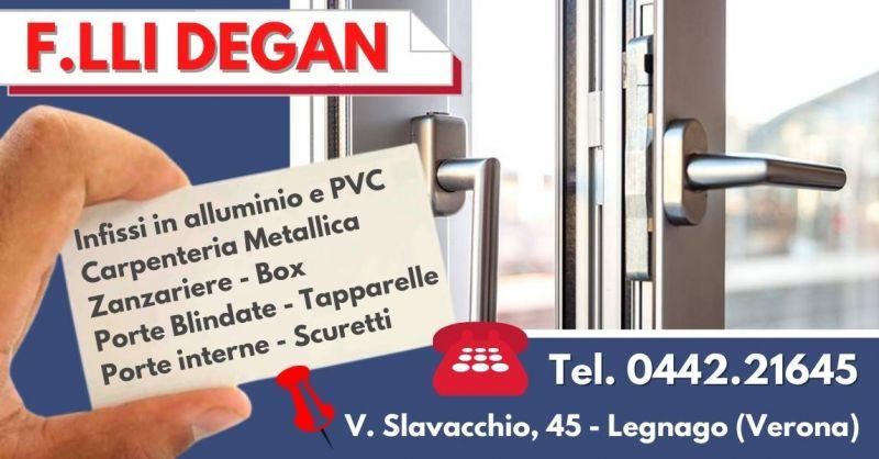 Offerta Produzione infissi in pvc alluminio - Occasione Infissi isolamento termoacustico Verona