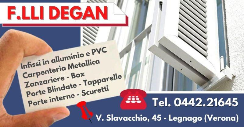 Offerta Vendita scuri per finestre in pvc - Occasione Installazione tapparelle motorizzate Verona