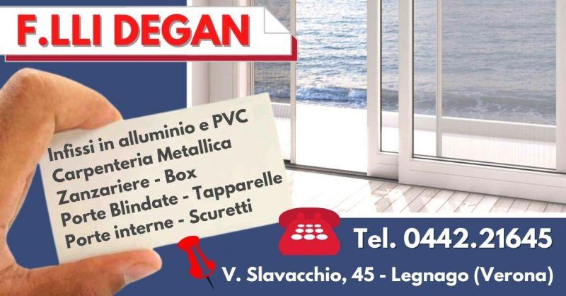 Offerta Installazione zanzariere scorrevoli su misura - Occasione produttori persiane in alluminio Verona