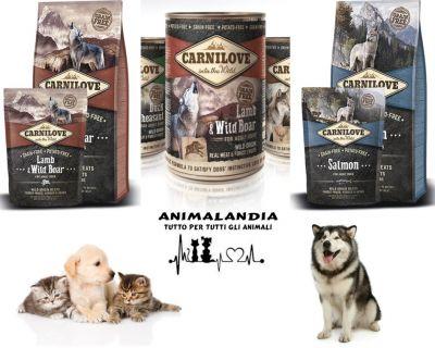 animalandia san gavino cibo e crocchette per cani e gatti carnilove