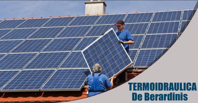 TERMOIDRAULICA DE BERARDINIS - Offerta ditta manutenzione e assistenza pannelli solari Pomezia