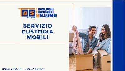 offerta servizio custodia mobili catanzaro offerta deposito mobili catanzaro