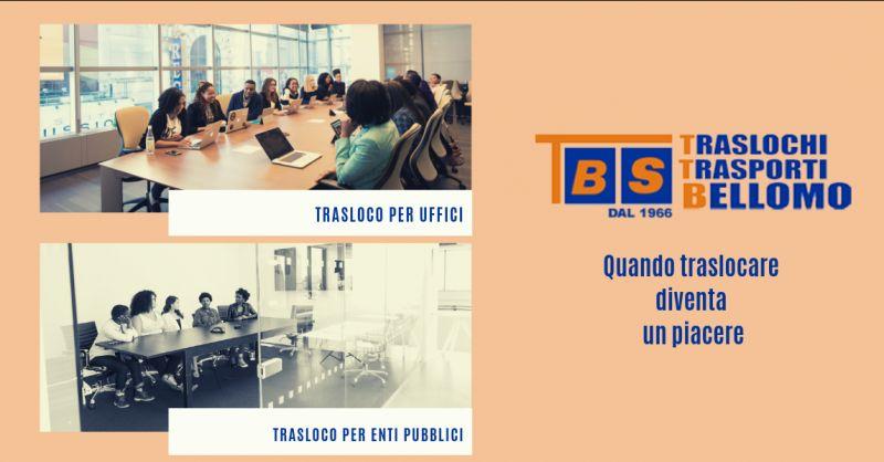Bellomo traslochi offerta trasloco per uffici catanzaro - promozione trasloco enti pubblici