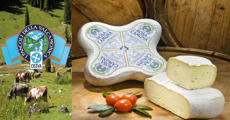 offerta vendita formaggio tipico ROSA CAMUNA - occasione produzione formaggi Valle camonica