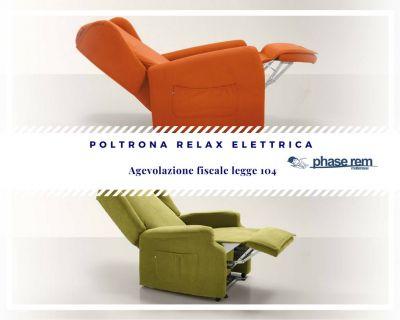 phase rem materassi guspini agevolazioni legge 104 poltrona relax elettrica
