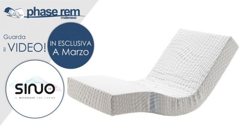 PHASE REM -  promozione materasso motorizzato dotato di radiocomando Sinuo