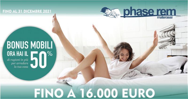 PHASE REM -  promozione bonus mobili 2021detrazioni