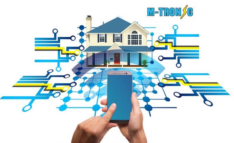 M -TRONIC offerta istallazione impianti domotici - promozione domotica abitazioni private