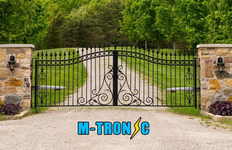 MTRONIC offerta pronto intervento cancello automatico - cancello rotto riparazione urgente