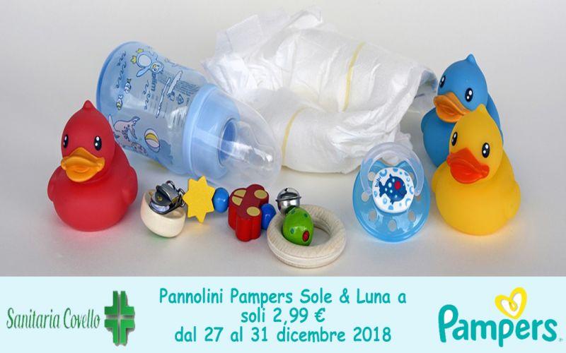 Offerta pannolini pampers sole luna cosenza - promo articoli bambini carrozzina culle montalto