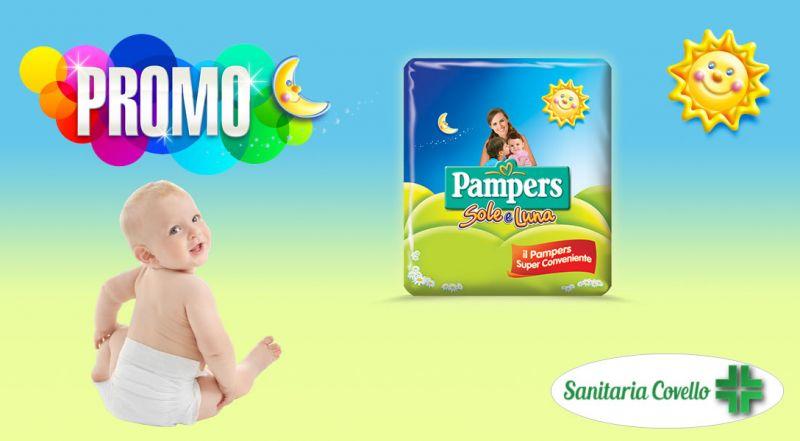 Promo pannolini pampers Cosenza – Offerta pannolini sole e luna pacco triplo Montalto Uffugo