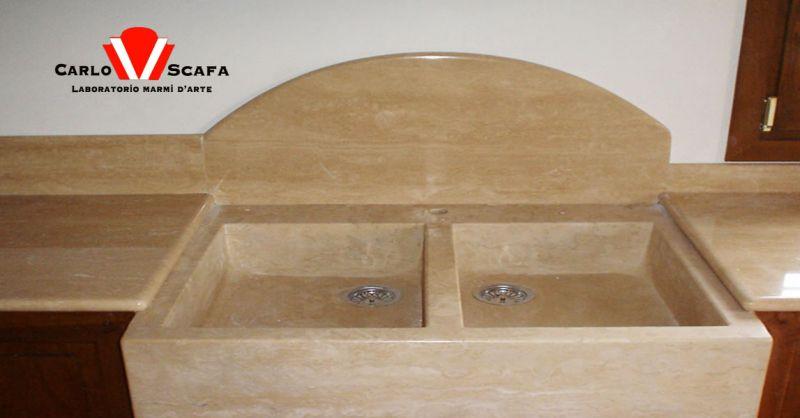 offerta realizzazione piani doccia in marmo Roma - occasione produzione lavelli in marmo Roma