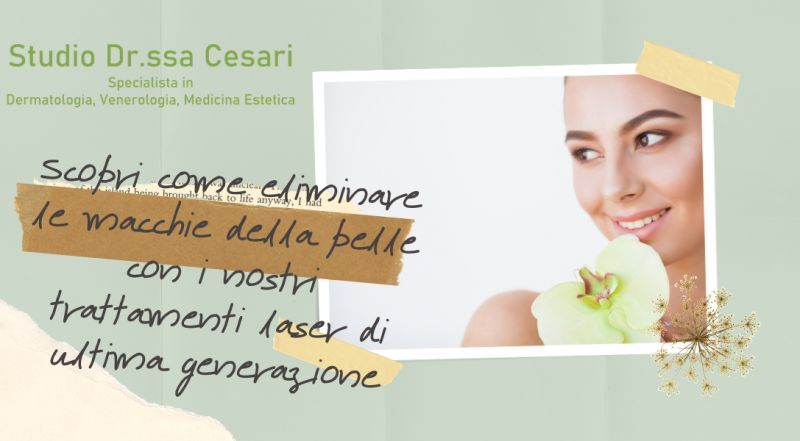 Occasione studio medico per la rimozione delle macchie dalla pelle a Udine – offerta studio medico specializzato medicina estetica a Udine