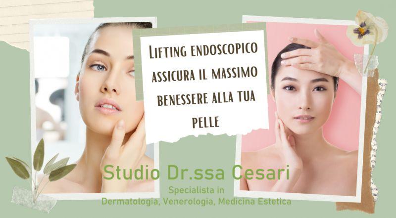Occasione trattamento medico per il ringiovanimento del viso a Udine – studio dermatologo specializzato nel Lifting endoscopico a Udine