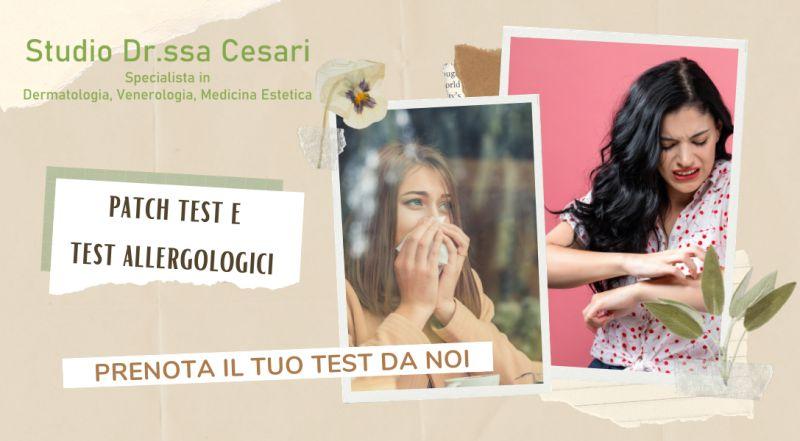 Occasione studio medico che esegue patch test a Udine – studio dermatologo test allergologici a Udine