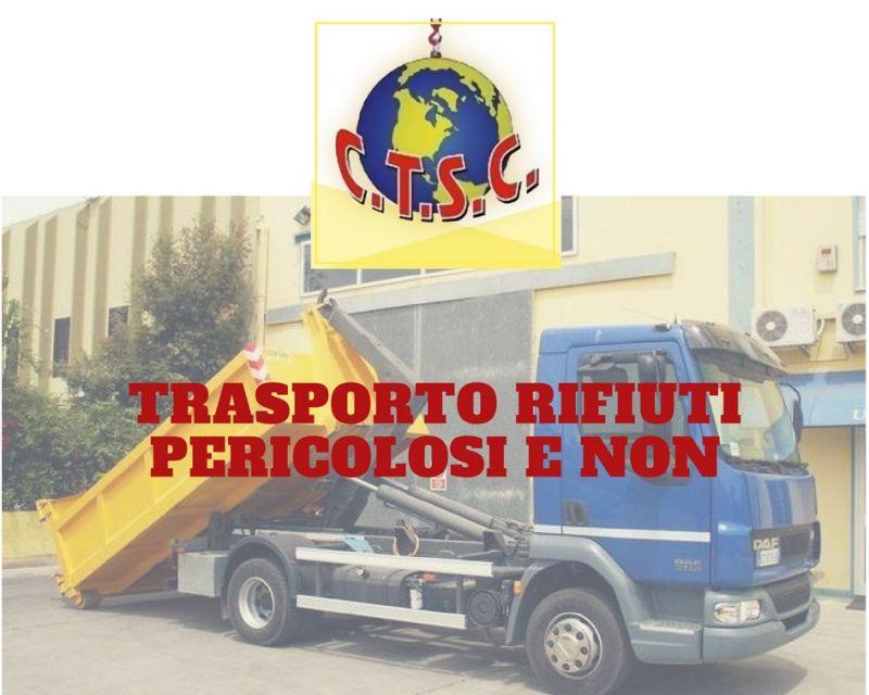 COOPERATIVA SACRO CUORE  - SERVIZIO DI TRASPORTO RIFIUTI SOLIDI E LIQUIDI PERICOLOSI
