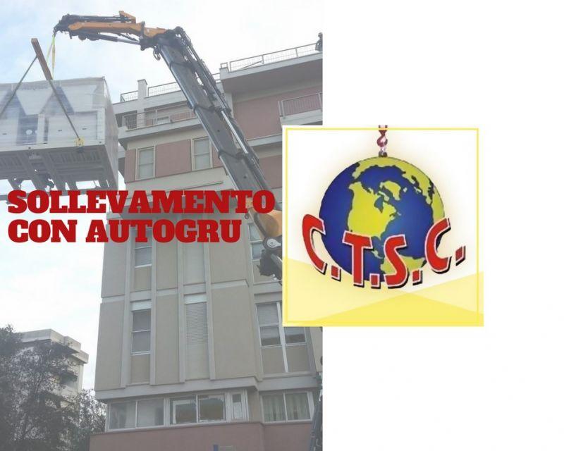 COOPERATIVA SACRO CUORE  - SERVIZIO SOLLEVAMENTO CON AUTOGRU CON BRACCIO TELESCOPICO