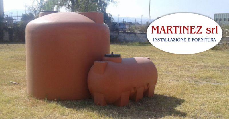 MARTINEZ SRL Ozieri - offerta cisterne e serbatoi in polietilene da esterno